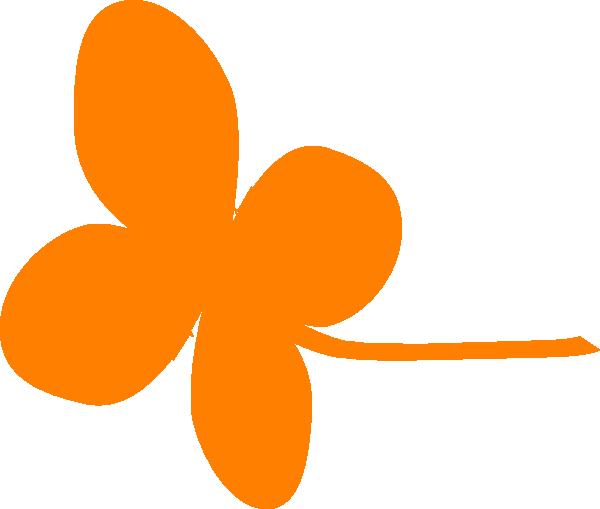 orange leaf clip art - photo #17