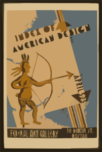 Index Of American Design  / Rw. Clip Art