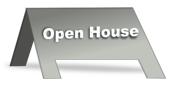 free clip art open house - photo #23