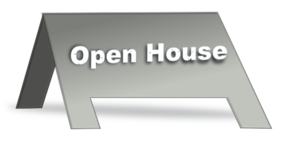 Open House Sign Clip Art