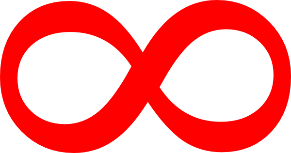 Infinity Transparent Symbol Clip Art at Clker.com - vector ...