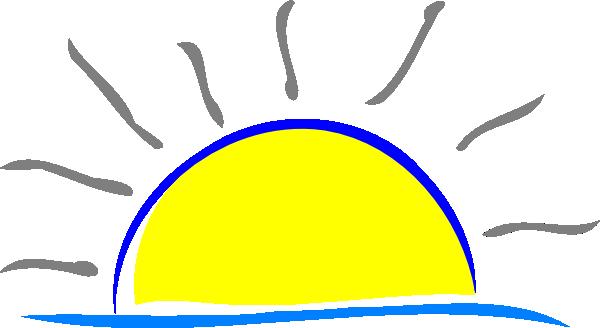 sunset clip art at clker com vector clip art online royalty free rh clker com sunset clipart pictures sunset clipart pictures