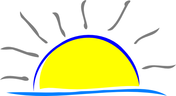 sunset clip art at clker com vector clip art online royalty free rh clker com sunset clipart images palm tree sunset clipart free