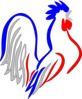 French Rooster Clip Art
