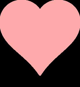 Baby Pink Heart Clip Art at Clker.com - vector clip art ...