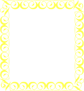 Yellow Border Clip Art At Clkercom Vector