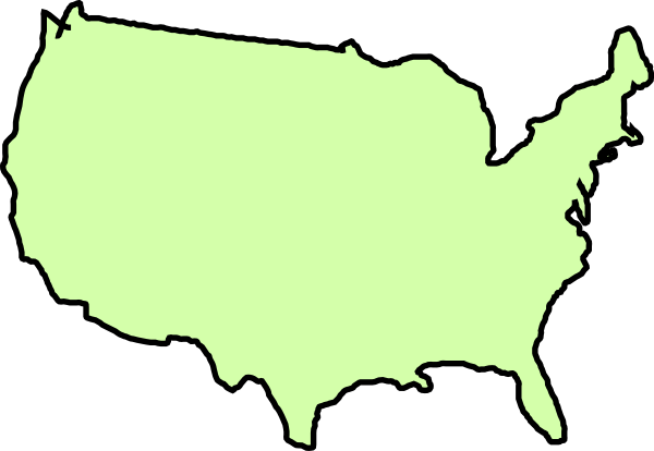 United States Clip Art at Clker.com - vector clip art ...