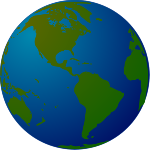 earth clip art at clker com vector clip art online royalty free rh clker com free world globe clipart black and white world globe clip art free download