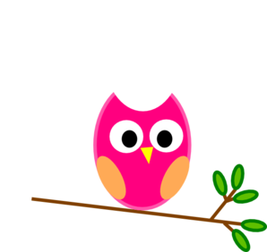 pink owl clip art at clker com vector clip art online royalty rh clker com free clipart of owls in washington free clipart of owls in washington
