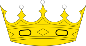 Crown Logo First Clip Art