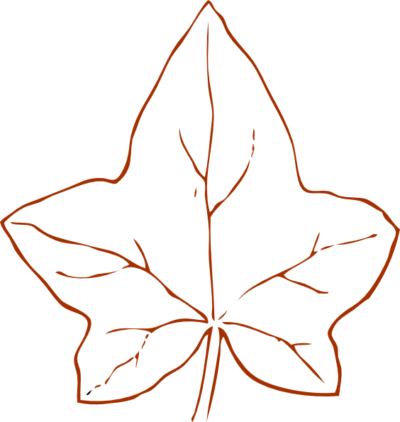 orange leaf clip art - photo #32