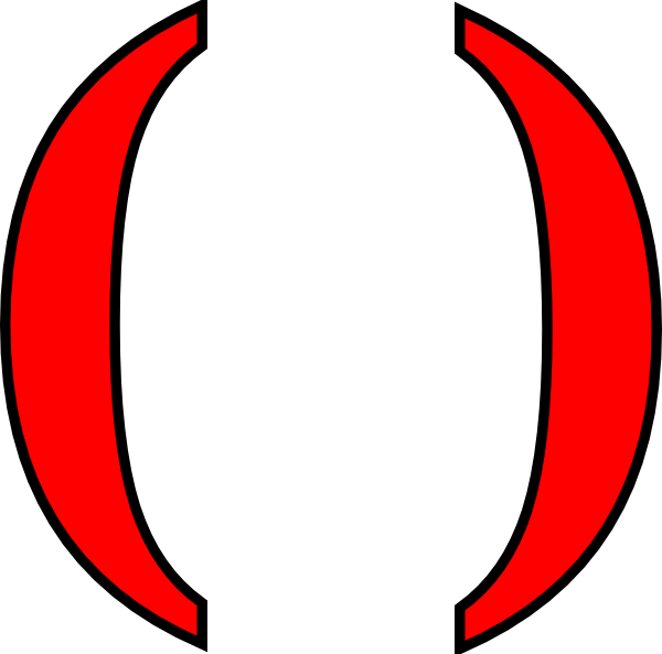 parentheses inside paranthesis Parenthesis one of the symbols ( or ) used to denote grouping parentheses have a great many specialized meanings in mathematics a few of these are described below.