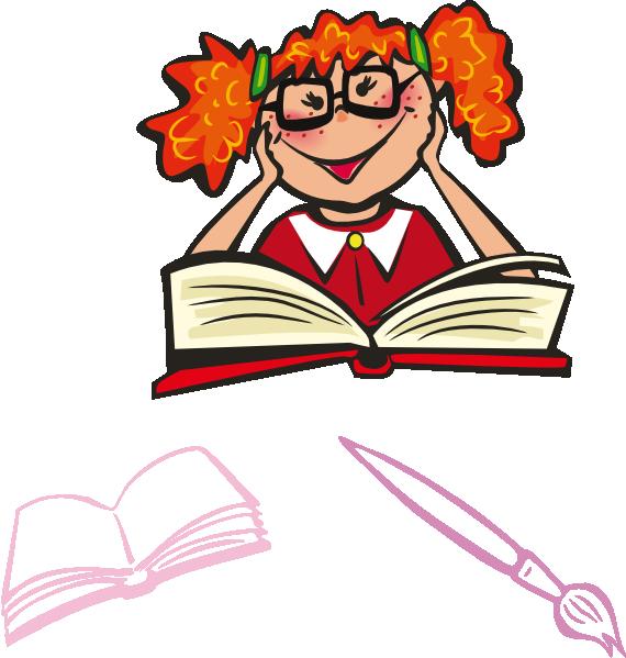 Child Reading Clip Art at Clker.com - vector clip art ...