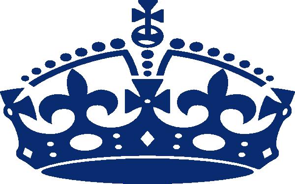 King crown clip art blue - photo#5