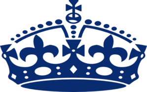Blue Jubilee Crown Clip Art