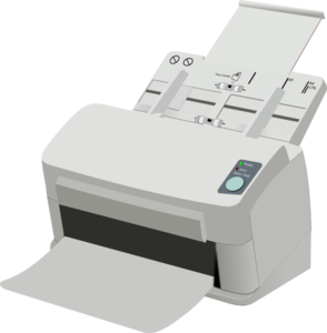 Sheet Fed Scanner Clip Art