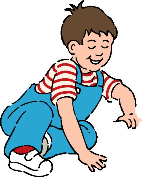 Boy Striped Shirt Clip Art At Clker Com Vector Clip Art