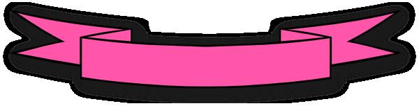 banner pink