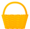 Orange Basket Clip Art