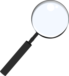 Magnifying Clip Art
