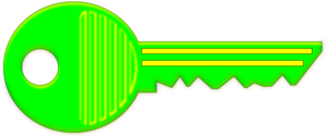 Green Luminous Clip Art