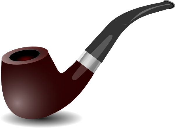 Tobacco Pipe Clip Art At Clkercom Vector