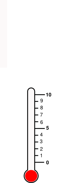 Anxiety Thermometer http://www.clker.com/clipart-anxiety-thermometer.html