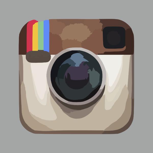 logo instagram kartun