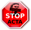 Internet Freedom Stop Acta Clip Art
