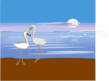 Swan S Sunset Clip Art