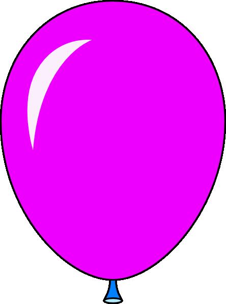 New Pink Balloon Light Lft Clip Art At Clker Com