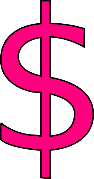 pink sign clip art at clker com vector clip art online royalty rh clker com clipart pictures of money signs free clipart money sign