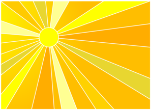 sunlight clip art at clker com vector clip art online royalty rh clker com sunlight clipart png Water Clip Art