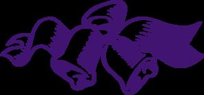 purple wedding bells clip art at clker com vector clip art online rh clker com wedding bells vector free wedding bells vector art