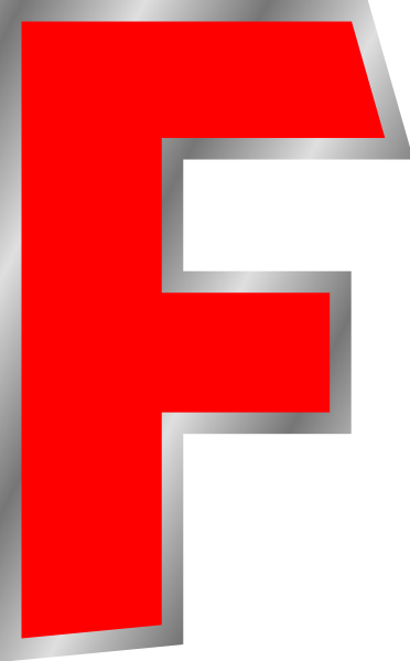 Clipart Letter F 2