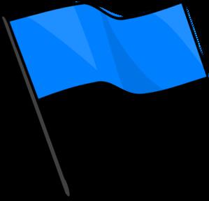 blue flag clip art at clker com vector clip art online royalty rh clker com free clipart canadian flag free flag clipart images
