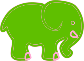 Cartoon Elephant 3 Clip Art