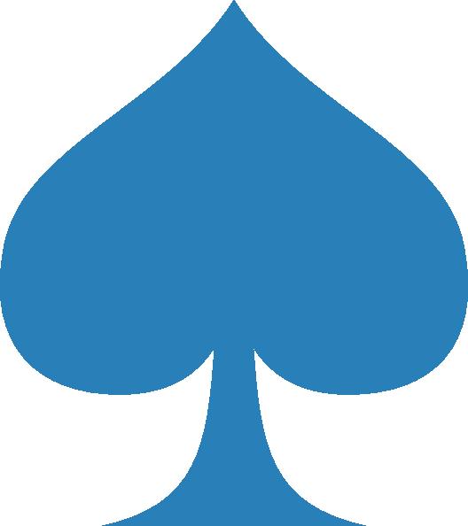 Blue Spade Clip Art At Clker Com Vector Clip Art Online