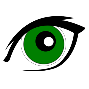 Green Eyes Clip Art