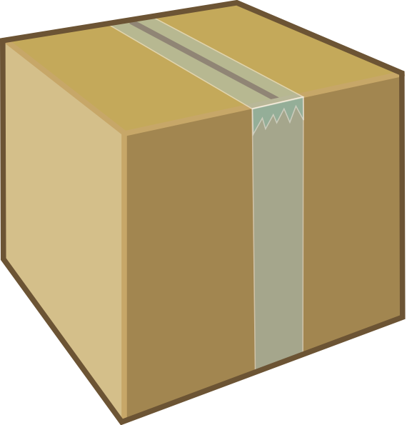 Cardboard Box Clip Art at Clker.com - vector clip art ...