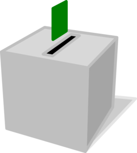 Voting Box Clip Art