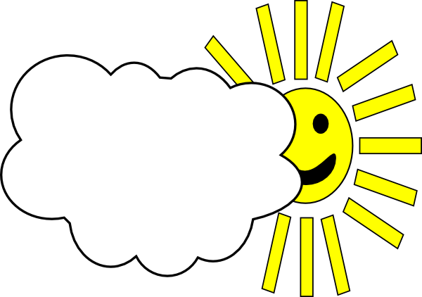 cloudy weather clip art at clkercom vector clip art