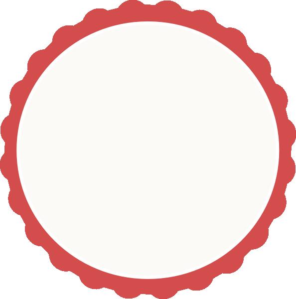 Scallop Frame Clip Art