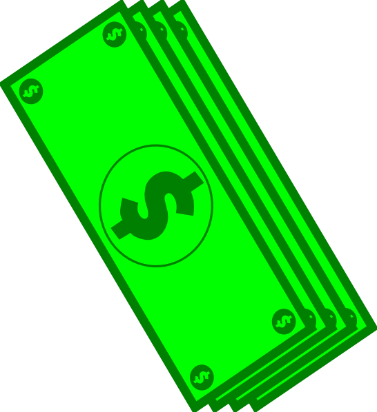 Dollar Bills Clip Art at Clker.com - vector clip art online, royalty ...