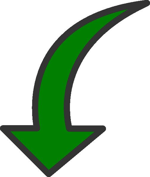 Green Arrow Clip Art at Clker.com - vector clip art online, royalty ...
