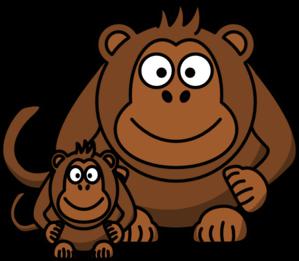 ape baby clip art at clker com vector clip art online royalty rh clker com apa clipart format ape clipart