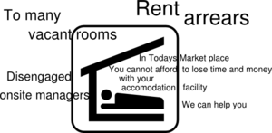 Property Management Sign  Clip Art