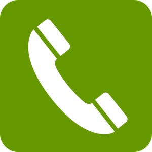 Phone Green Press Clip Art