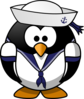 Sailor Penguin Clip Art