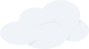 Grey Cloud Clip Art